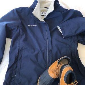 Columbia Jacket Fleece Lined , XL